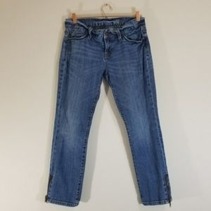 Gap 1969 Skinny Jean's with Zipper Ankle detail